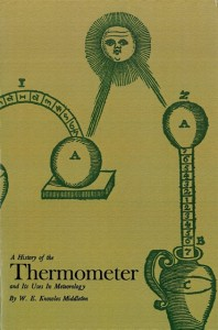 "Cover: ""A History of the Thermometer and Its Uses in Meteorology"""