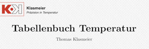 Kennliniengleichung  - Au/Pt Thermoelement (Gold/Platin)